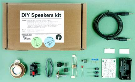 Tech Will Save Us DIY Speakers