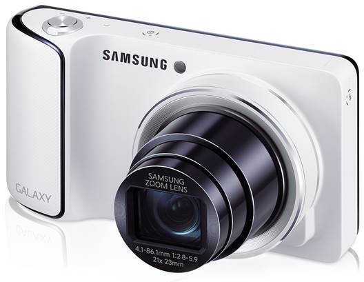 Samsung has launched the Galaxy Camera, a digital camera that uses the Android operating system.
