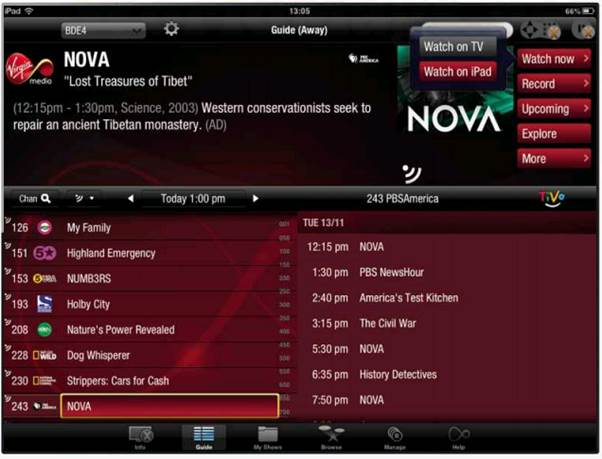 Virgin Takes The Plunge On Internet Television - Tutorials,Articles