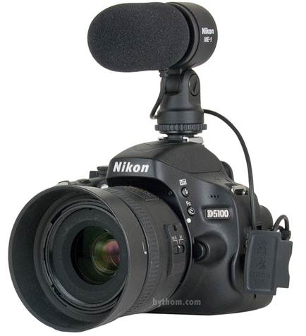 Description: 3. Sound quality on DSLR and compact cameras