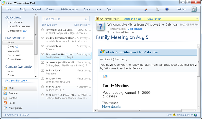 Download windows live mail 2012 (16. 4. 3508) filehippo. Com.