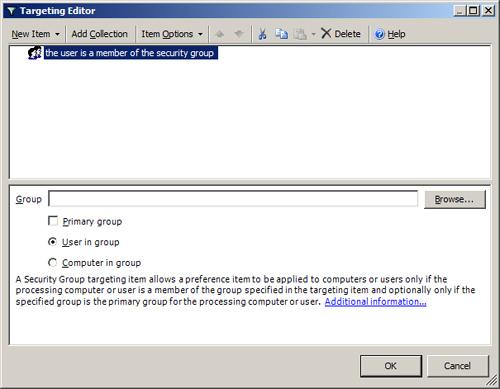 Windows Server 2008 and Windows Vista : Item-Level Targeting (part 6