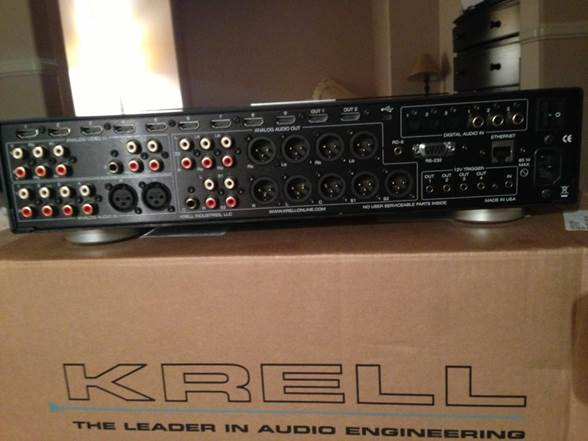 Description: Krell Foundation AV preamp