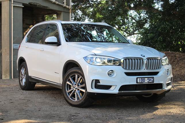 The BMW X5 25d is a visual standout from every angle, inside and out