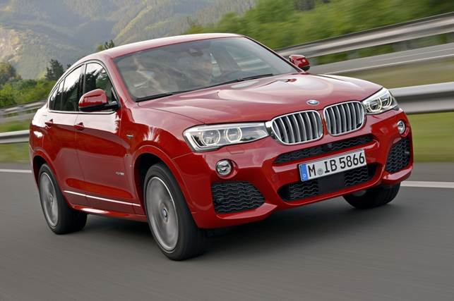 The X4 is effectively a smaller version of BMW's X6