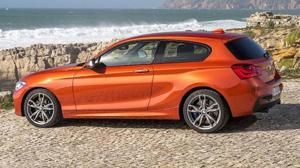The range-topping M135i can reach 100kmh from zero in 5.1 seconds. -- PHOTO: BMW