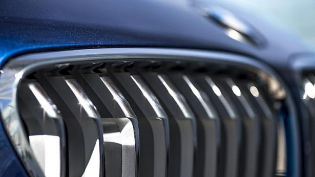One way to recognise the facelifted BMW 6-series is to count the slats in the front grille (above). -- PHOTO: BMW
