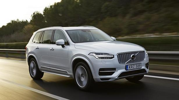 The new Volvo XC90 has an elegant silhouette and a Sensus infotainment system with a touchscreen. -- PHOTO: VOLVO