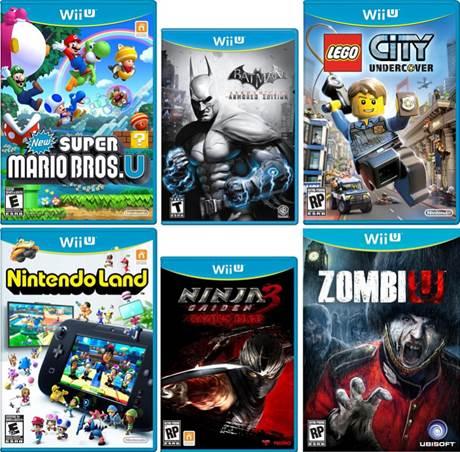 Wii Games List