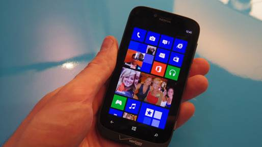 The Lumia 822 is one of the first smartphones on the market coming with Microsoft's latest mobile OS, Windows Phone 8.