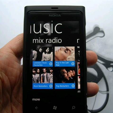 Another application that Lumia owners often appreciate is Nokia Music, which offers a free service called Mix Radio.