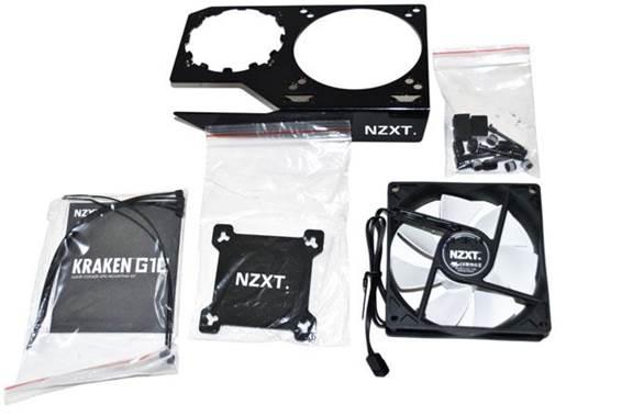 Description: NZXT G10's parts