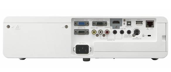 Description: PANASONIC PT-VW345NZ connectors