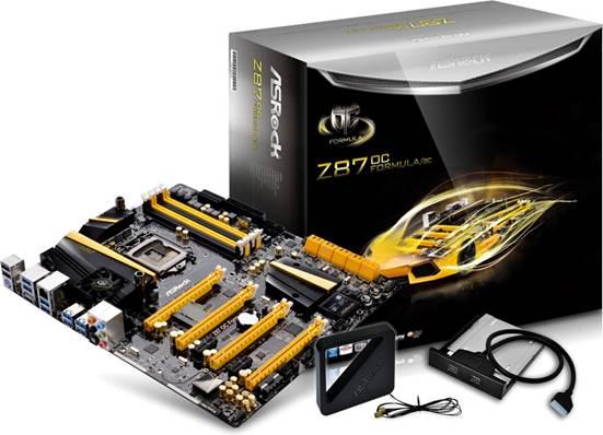 Description: ASROCK Z87 OC Formula motherboard