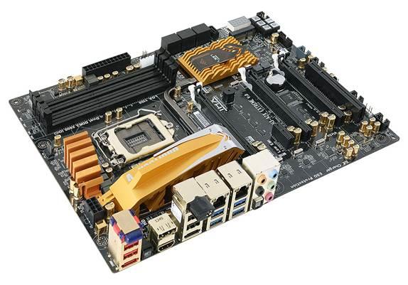 Description: ECS GANK Domination Z87H3-A2X Golden motherboard