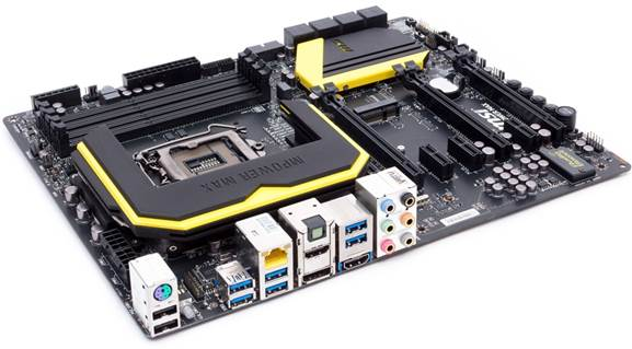 Description: MSI Z87 MPOWER MAX motherboard
