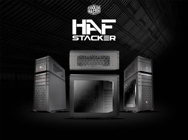 The modular and expandable HAF 935 Stacker is the first of its kind.