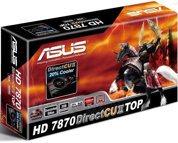 Description: Description: ASUS Radeon HD7870 DirectCUII Top - Power For Price