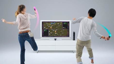 Description: coming from Sony about the new PlayStation Move controller for the PS3,
