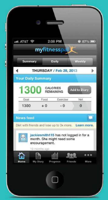 MyFinessPal (free) is a  web-site that gives you a wealth of easy-to-use tools for doing the math required for managing your weight