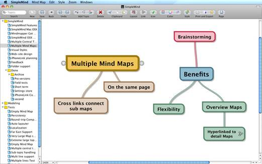 Top mind mapping tools for android tutorialsarticlesalgorithms simplemind is a mind mapping tool available for the mac os the iphone windows ccuart Images