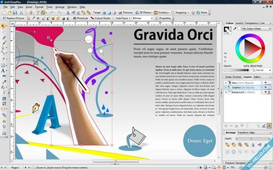 Drawplus X6 64 Bit Support And A New Rendering Engine Tutorials