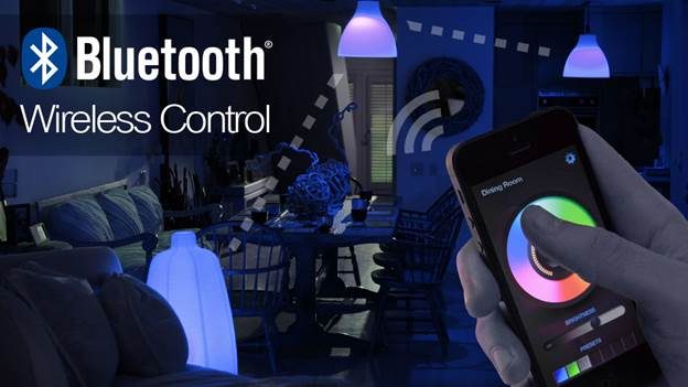 According to the folks at iLumi, the advantages of Bluetooth over WiFi are numerous