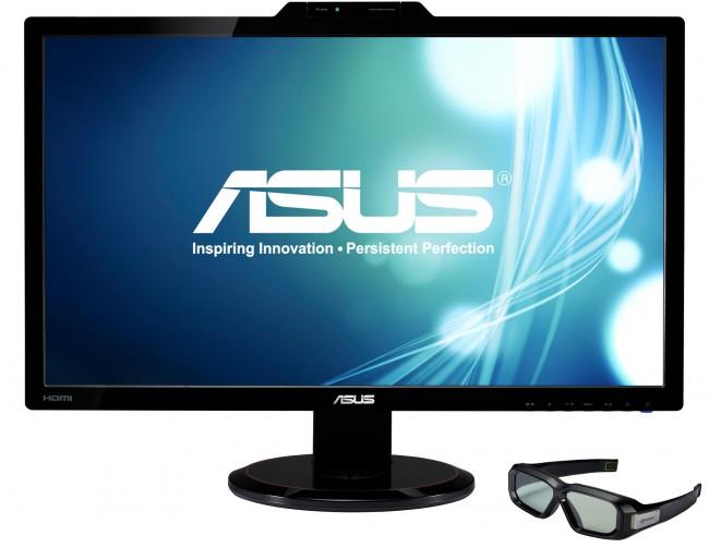 Asus LCD Monitor VG278H 3D Vision Kit Front