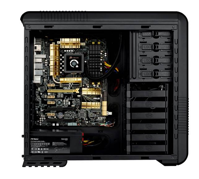 Asus Z87-Deluxe System build