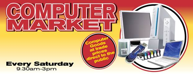 Northern Computer Markets (www.computermarkets.co.uk) have been established since 1992, taking place every Saturday and Sunday and even on some weekday evenings