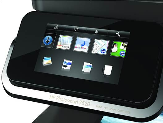 On tap: HP's touch-screen interface is more than a gimmick – it's a surprisingly great way to operate a printer