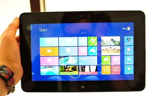 Indeed, like Surface Pro and Samsung ATIV Smart PC Pro, Latitude 10 shows off a lot of business-friendly features