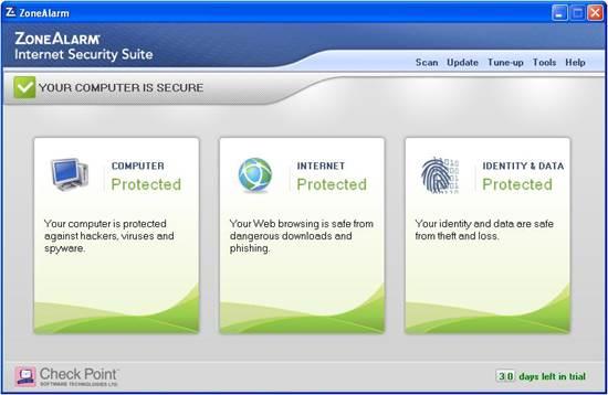 Zonealarm Internet Security 2013