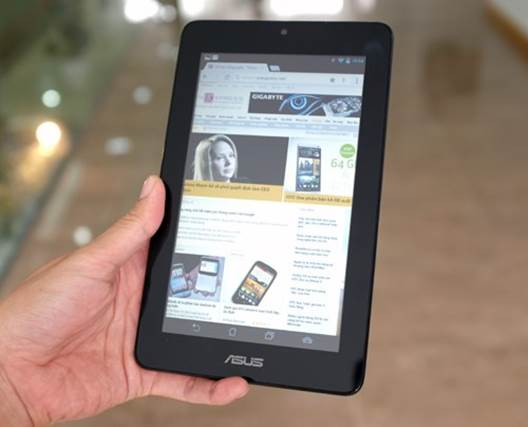 The Memo Pad 7 is a cheap but quite attractive tablet.