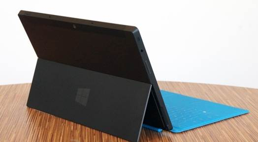 The Surface is available in two versions, one with a pre-installed 32GB and one with 64GB.