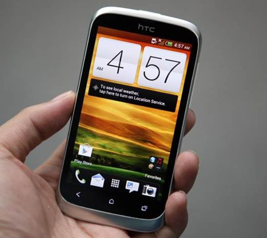 HTC Desire U is another version of the Desire V with an upgraded screen.