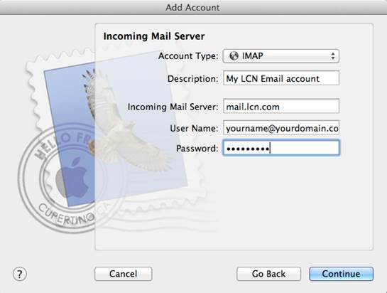 Take extra care with your email account password