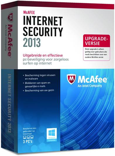 Internet Security 2013 - Mcafee