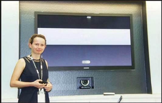Description: Eva Markova, chief operations officer of ESET Asia Pacific