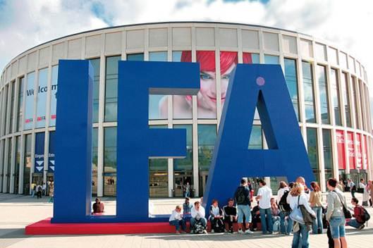 Description: the IFA, or Internationale Funkausstellung Berlin