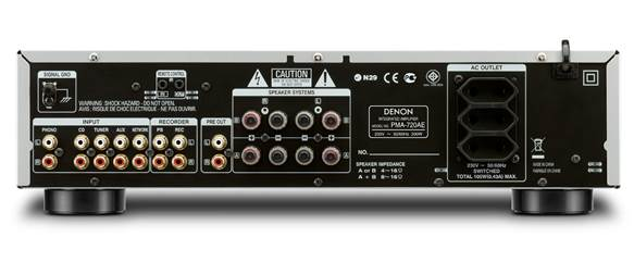 The PMA-720AE applies the same approach to a soft, emotional song as to a metronomic drum-and-bass track