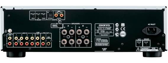 A step up from the A-9030 means an increased power output of 75W per channel, along with digital inputs (one optical, two coaxial) linked to an integrated Wolfson 192kH/24- bit DAC