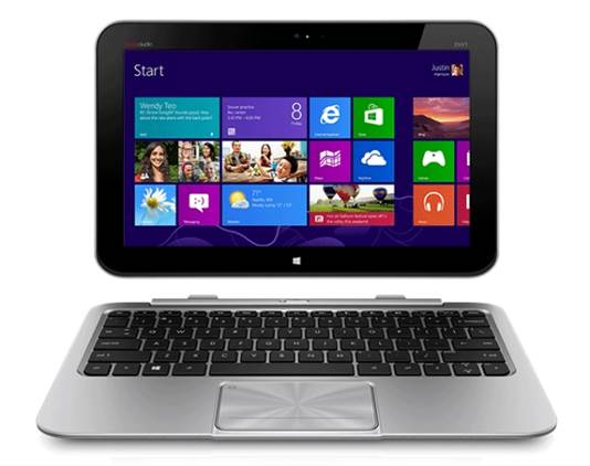 The Envy x2 runs full Windows 8, but processor power is limited