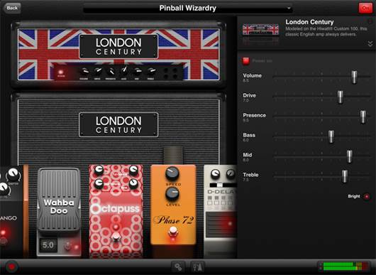 Another excellent-sounding app is Agile Partners' AmpKit+, which serves up plenty of amps, cabinets, mies, and effects