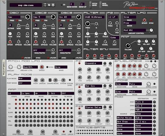 Rob Papen's Predator is ideal for making a nasty, abrasive Reese patch – while there's nothing too wild going on under the hood, it offers enough options to let you really go to town