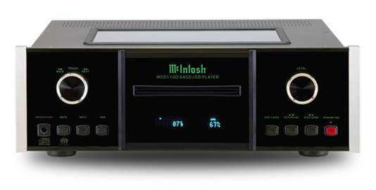 As well as supporting CD and SACD playback, the MCD1100, has five digital inputs for external digital sources and offers a choice of fixed and variable outputs