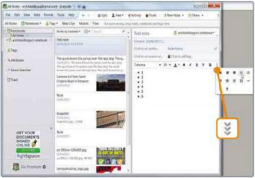 Click the toolbar's triple chevron to access hidden tools