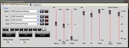 px5 advanced sound editor