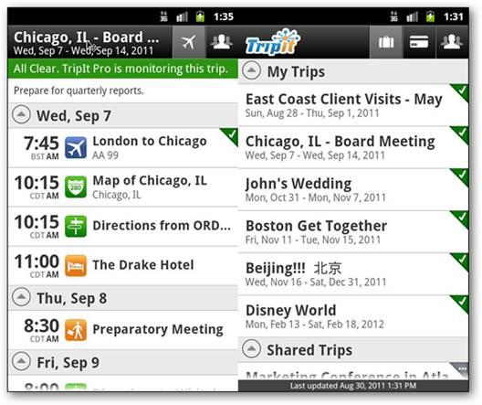 Triplt Travel Organizer
