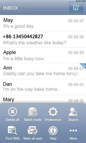 Go SMS enables you to do more with text messages than you ever dreamed of
